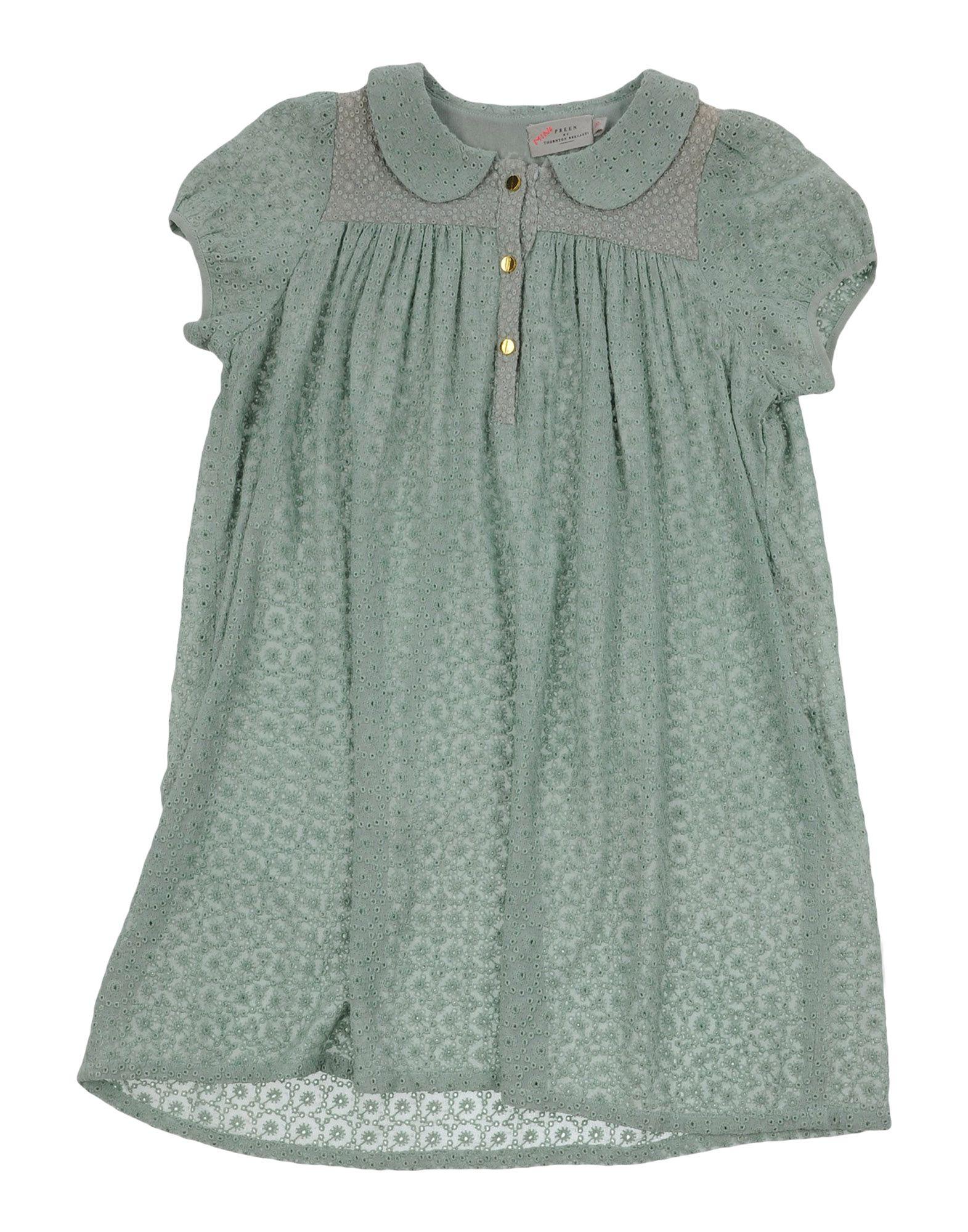 PREEN by THORNTON BREGAZZI Mädchen 3-8 jahre Kleid Farbe Militärgrün Größe 6