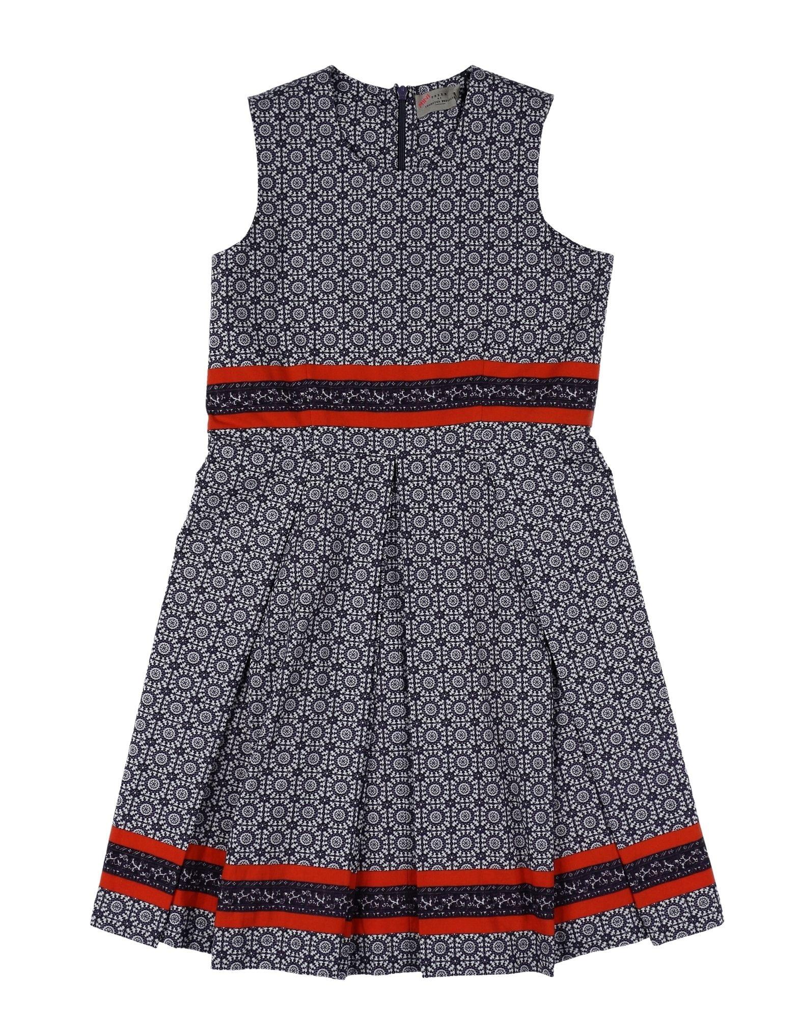 PREEN by THORNTON BREGAZZI Mädchen 3-8 jahre Kleid Farbe Dunkelblau Größe 6