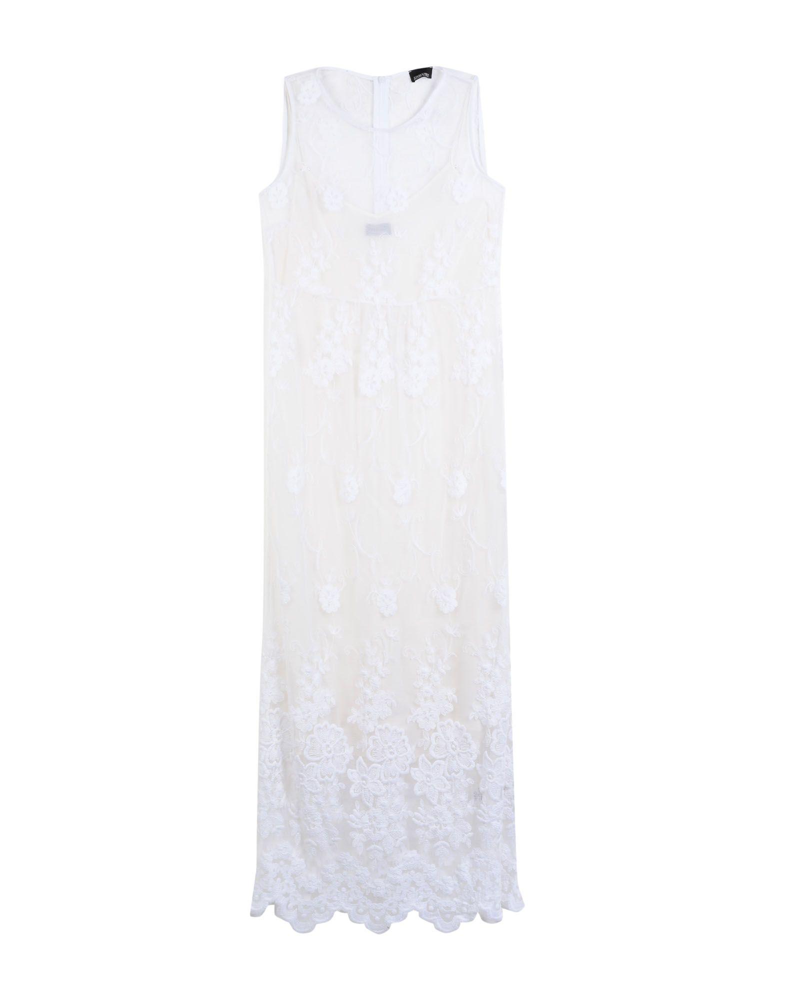 ermanno scervino однотонное платье ERMANNO DI ERMANNO SCERVINO Длинное платье