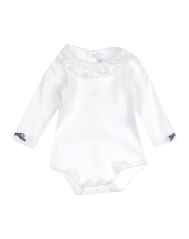 ALETTA Baby Body Elfenbein Größe 12 98% Baumwolle 2% Polyamid