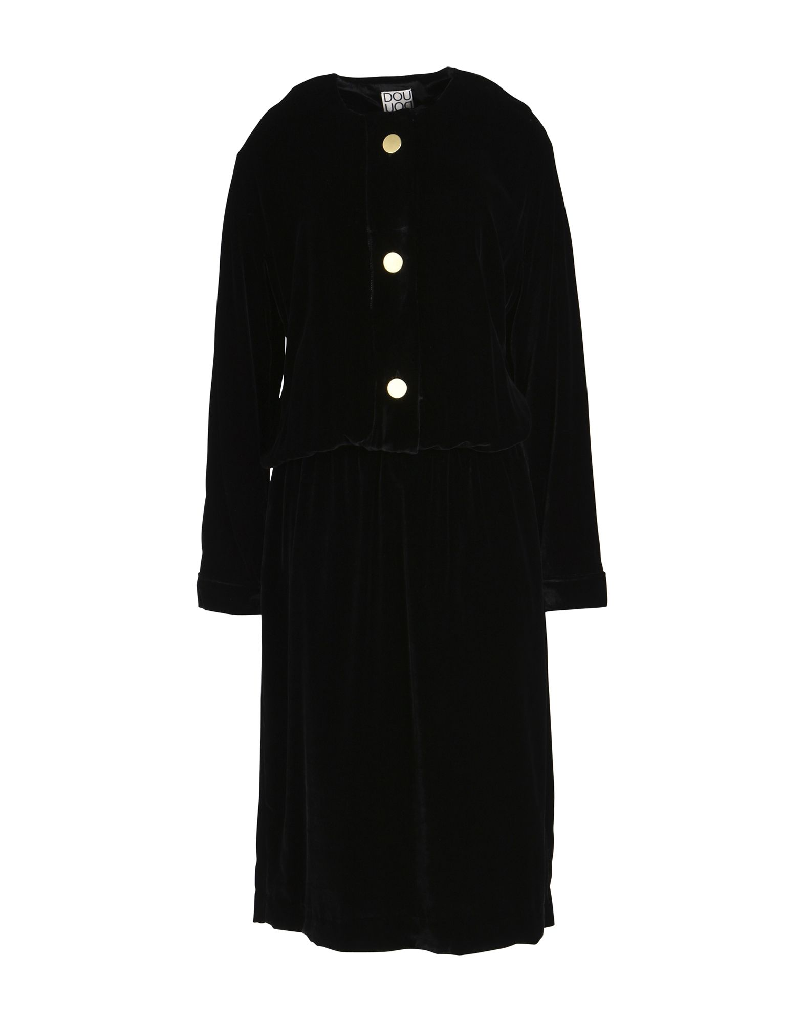 DOUUOD Платье длиной 3/4 lisa corti платье длиной 3 4