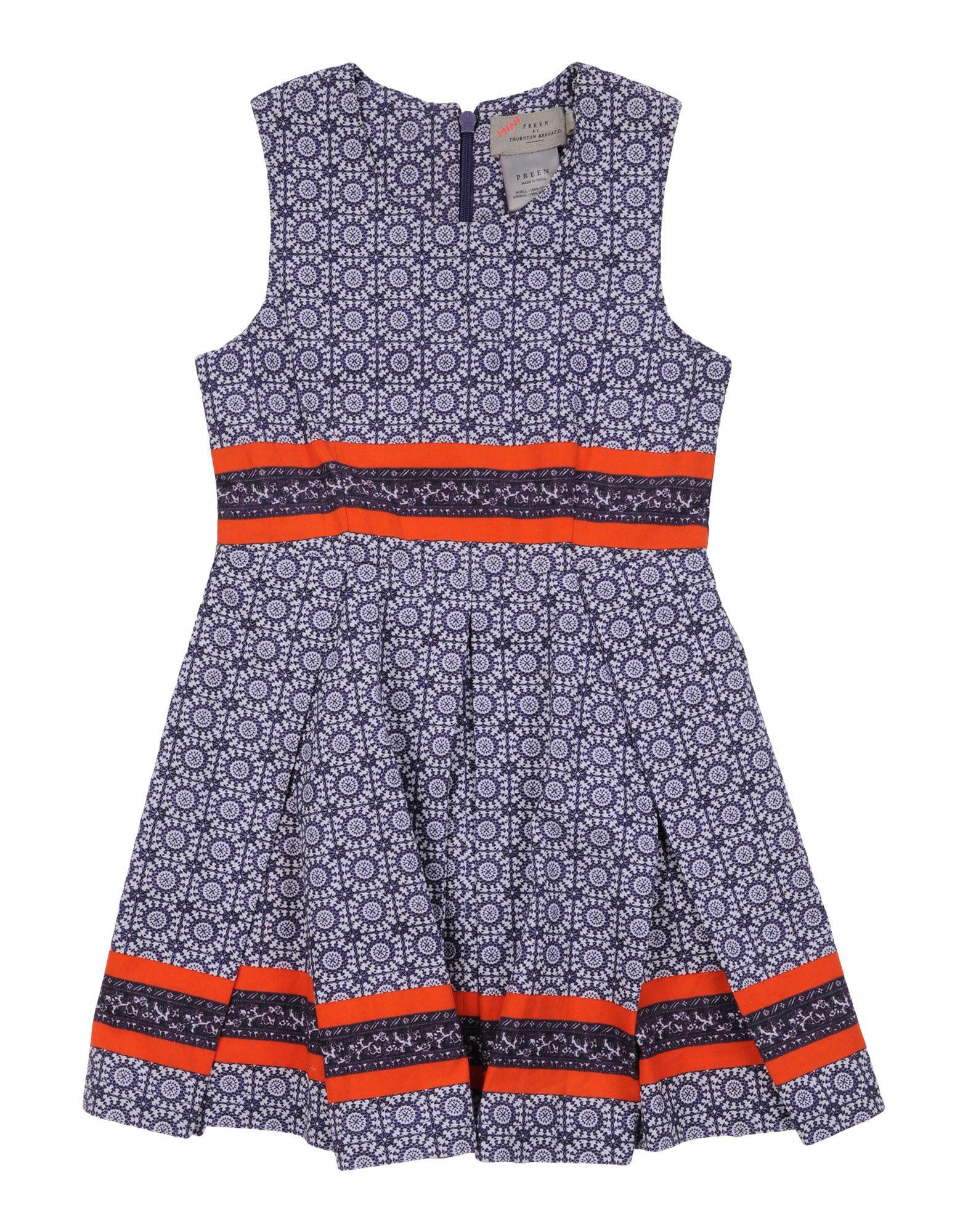 PREEN by THORNTON BREGAZZI Mädchen 0-24 monate Kleid Farbe Dunkelblau Größe 10