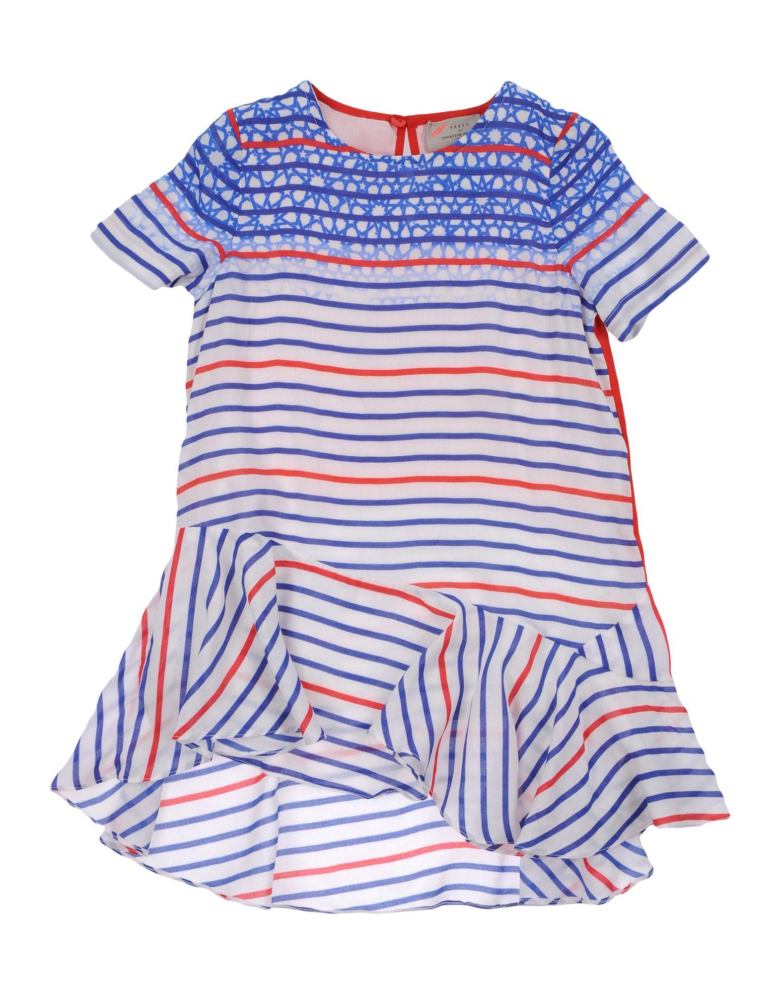 PREEN by THORNTON BREGAZZI Mädchen 0-24 monate Kleid Farbe Blau Größe 10