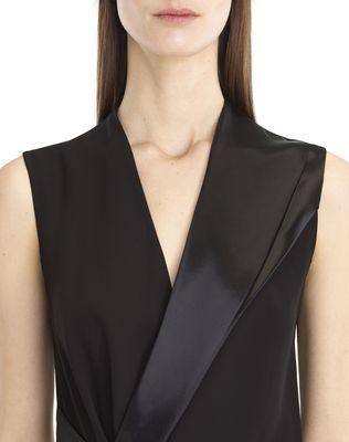 LANVIN FLOWY CREPE DRESS Dress D a
