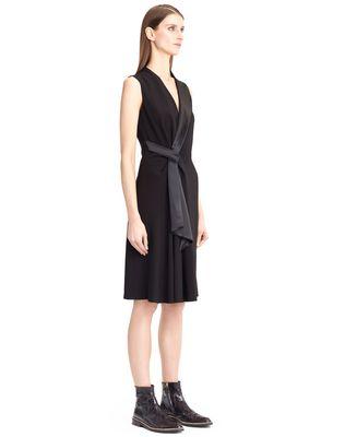 LANVIN FLOWY CREPE DRESS Dress D e