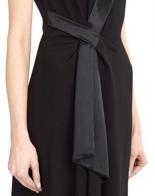LANVIN FLOWY CREPE DRESS Dress D r