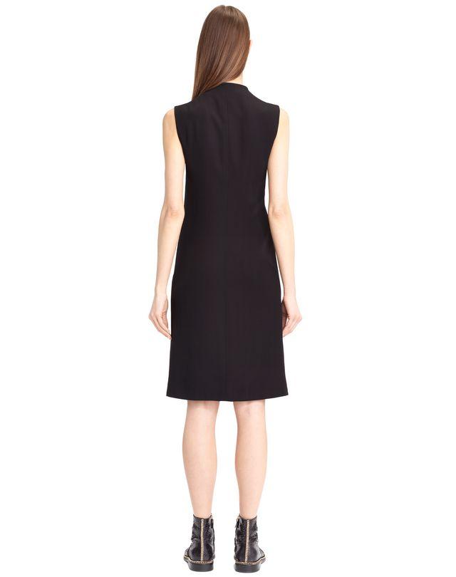 LANVIN FLOWY CREPE DRESS Dress D d