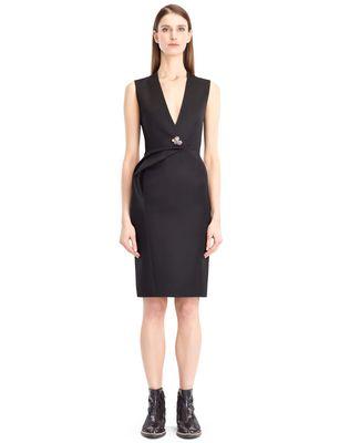 LANVIN Dress D DOUBLE-WEAVE WOOL DRESS F