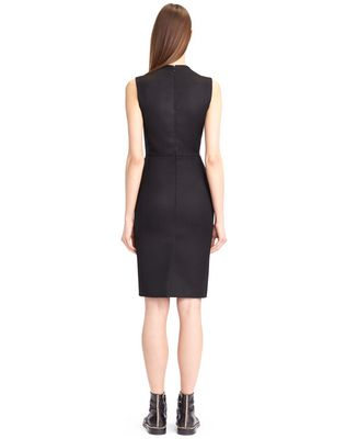 LANVIN DOUBLE-WEAVE WOOL DRESS Dress D d