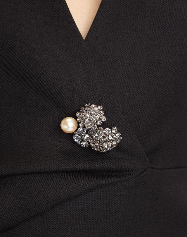 LANVIN DOUBLE-WEAVE WOOL DRESS Dress D b