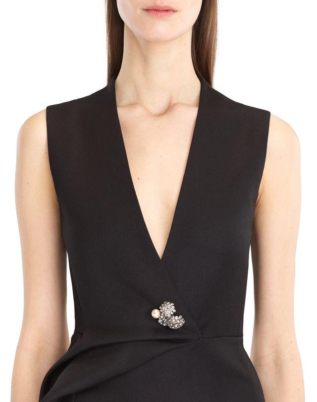 LANVIN DOUBLE-WEAVE WOOL DRESS Dress D r