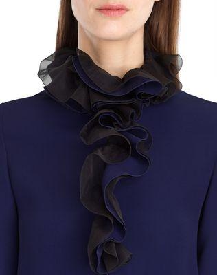 FLOWY CREPE DRESS