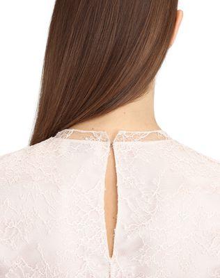 LANVIN SILK CHIFFON DRESS Long dress D a