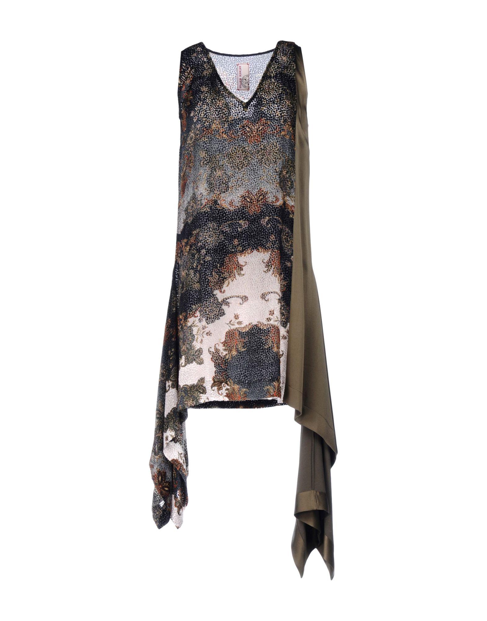 цена ANTONIO MARRAS Короткое платье онлайн в 2017 году