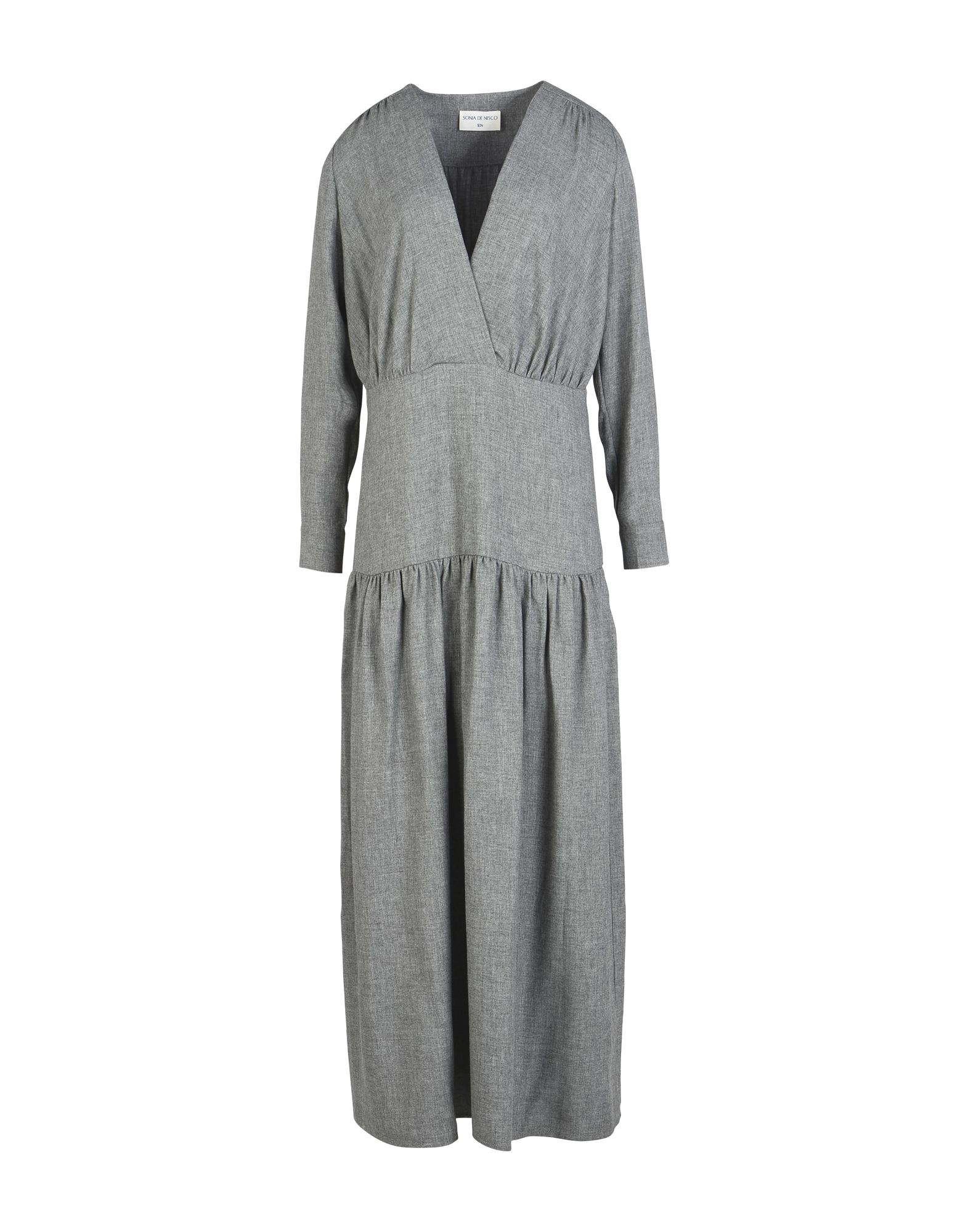SONIA DE NISCO Длинное платье sonia de nisco пальто