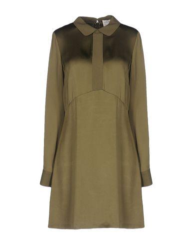 Фото - Женское короткое платье SONIA DE NISCO цвет зеленый-милитари