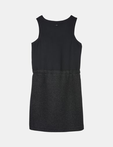 GIRLS SPARKLY V-NECK TANK DRESS