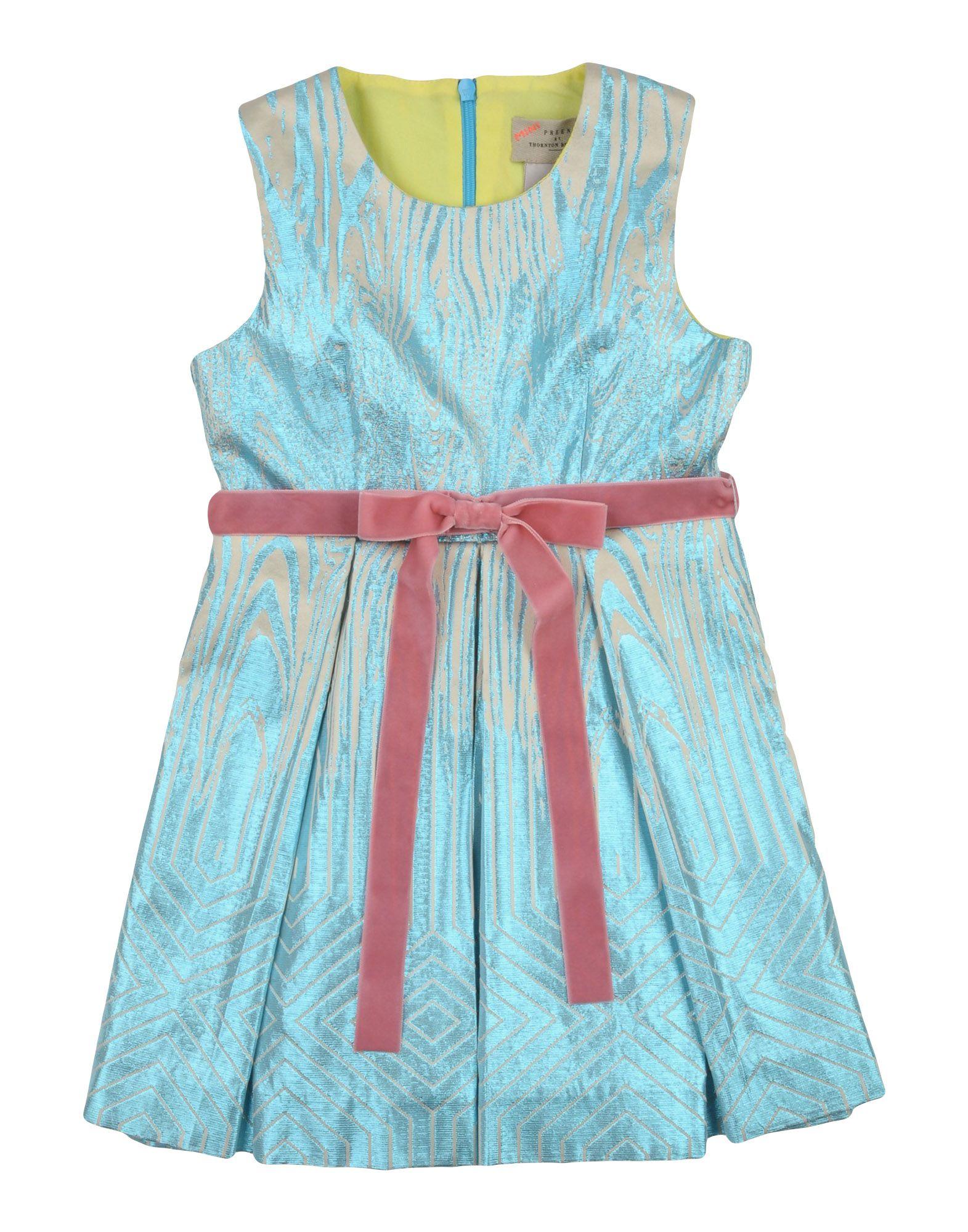 PREEN by THORNTON BREGAZZI Mädchen 0-24 monate Kleid Farbe Azurblau Größe 10