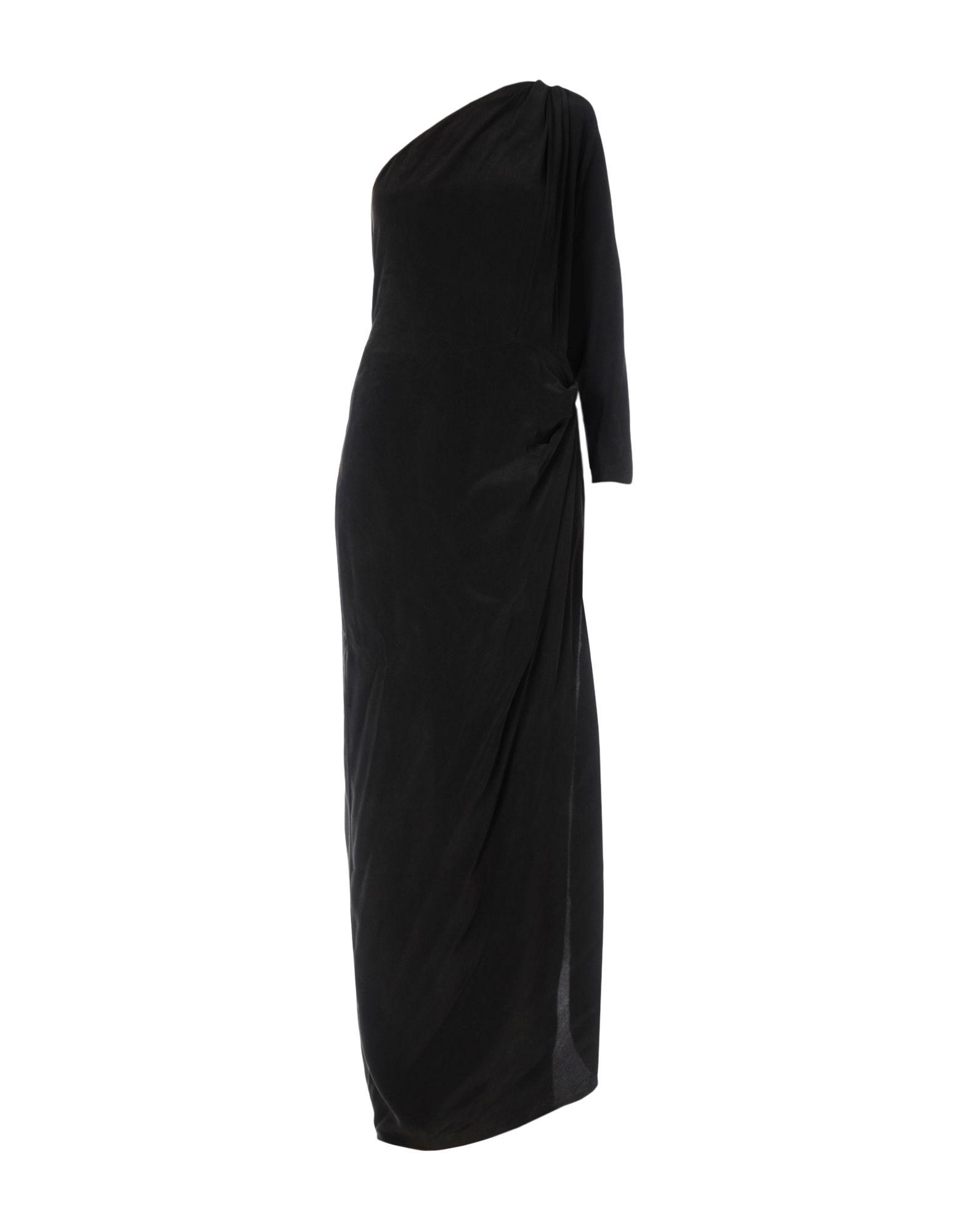 цена ACNE STUDIOS Длинное платье онлайн в 2017 году