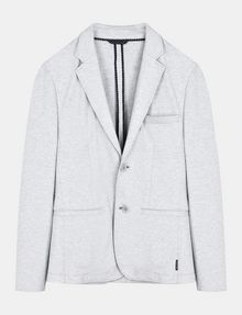 ARMANI EXCHANGE TAILORED PONTE BLAZER Blazer Man b