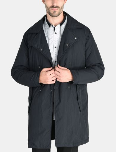 3-IN-1 BELTED NYLON PEACOAT