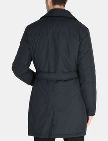 ARMANI EXCHANGE 3-IN-1 BELTED NYLON PEACOAT Jacket Man r