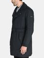 ARMANI EXCHANGE 3-IN-1 BELTED NYLON PEACOAT Jacket Man d