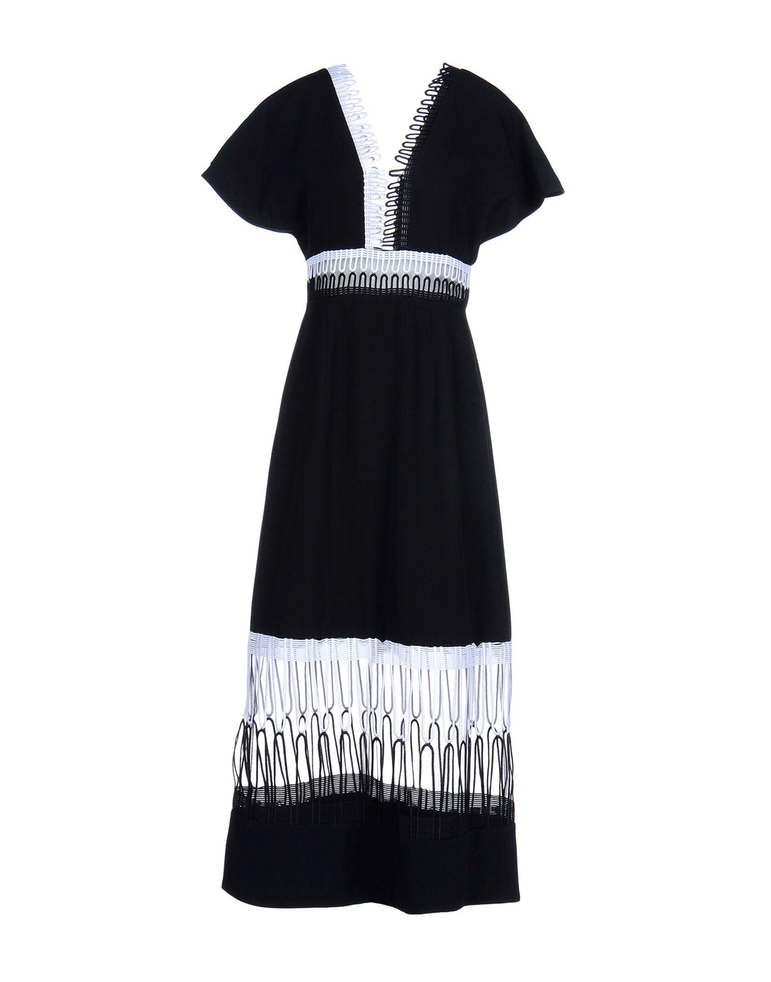 ФОТО christopher kane длинное платье