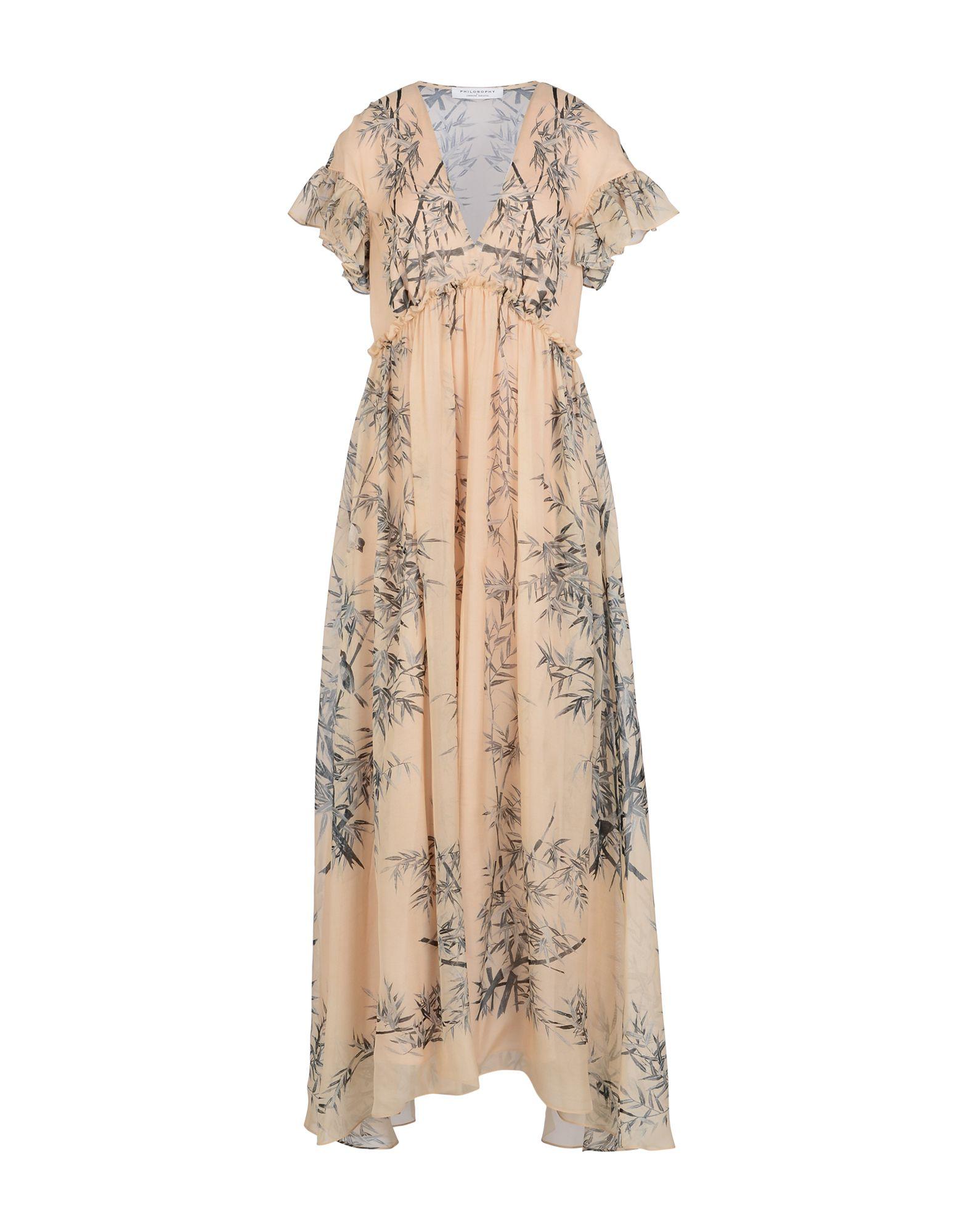PHILOSOPHY di LORENZO SERAFINI Длинное платье