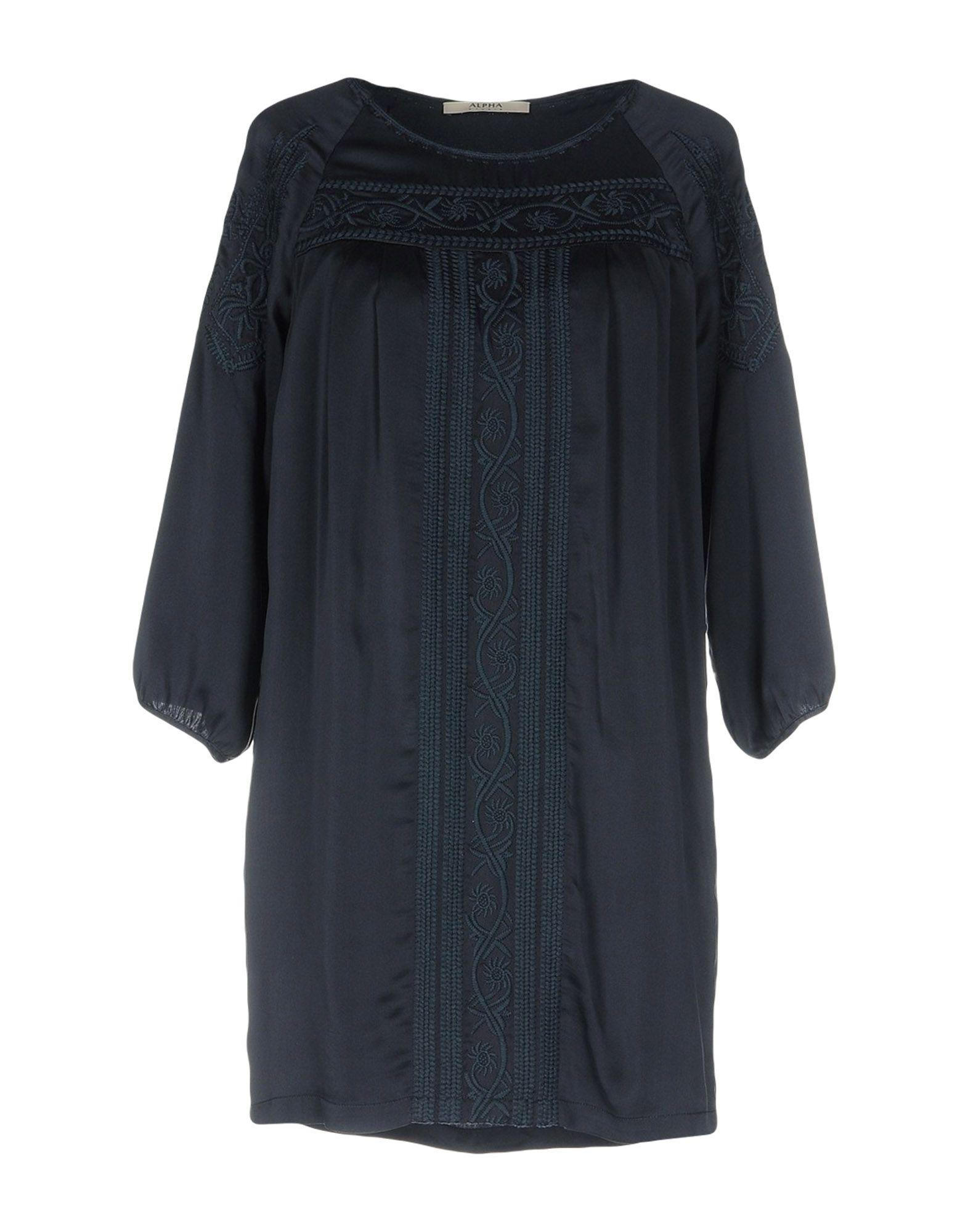 ALPHA STUDIO Короткое платье lisa corti короткое платье