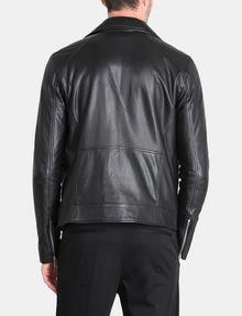 ARMANI EXCHANGE ASYMMETRICAL LEATHER MOTO JACKET Leather Man r