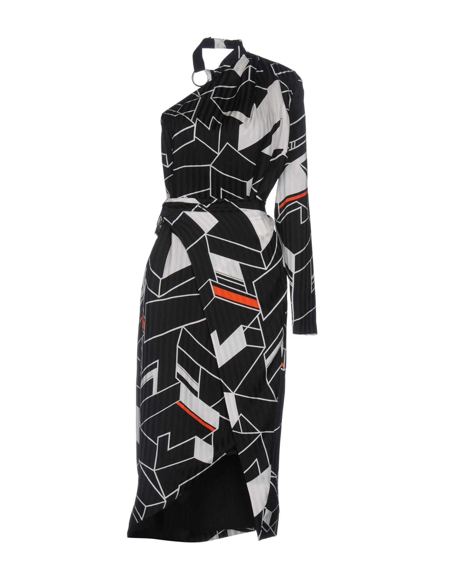 PREEN by THORNTON BREGAZZI Короткое платье цены онлайн