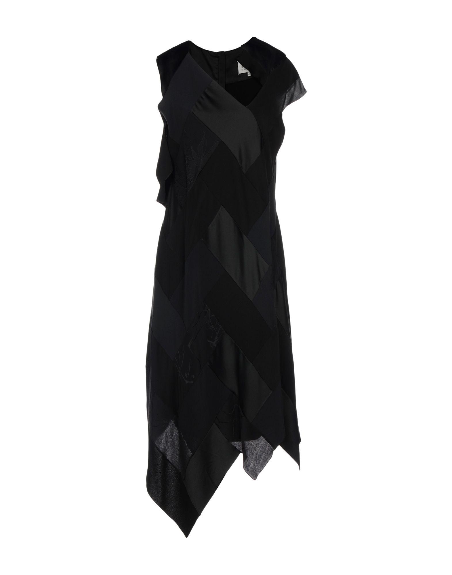 MAISON MARGIELA Платье до колена павлово посадский шелк