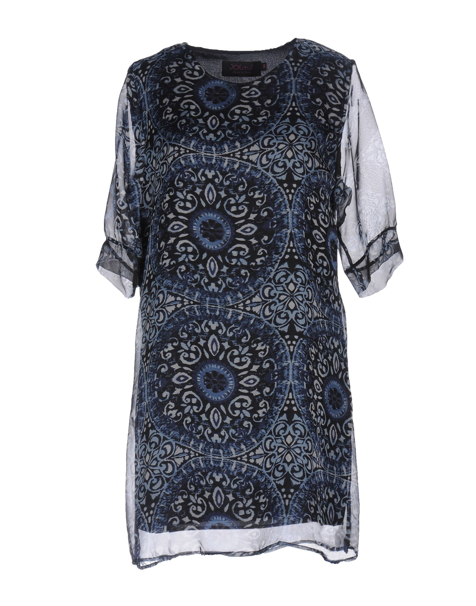POEMS Короткое платье бусы из янтаря леди 2