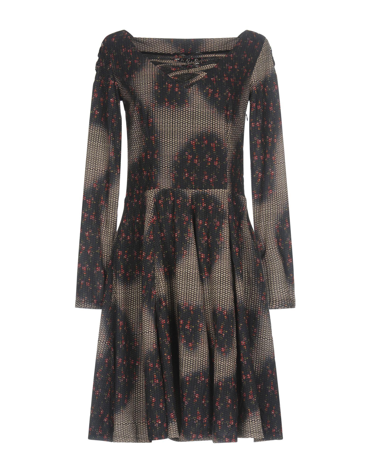 цена JANIS Короткое платье онлайн в 2017 году