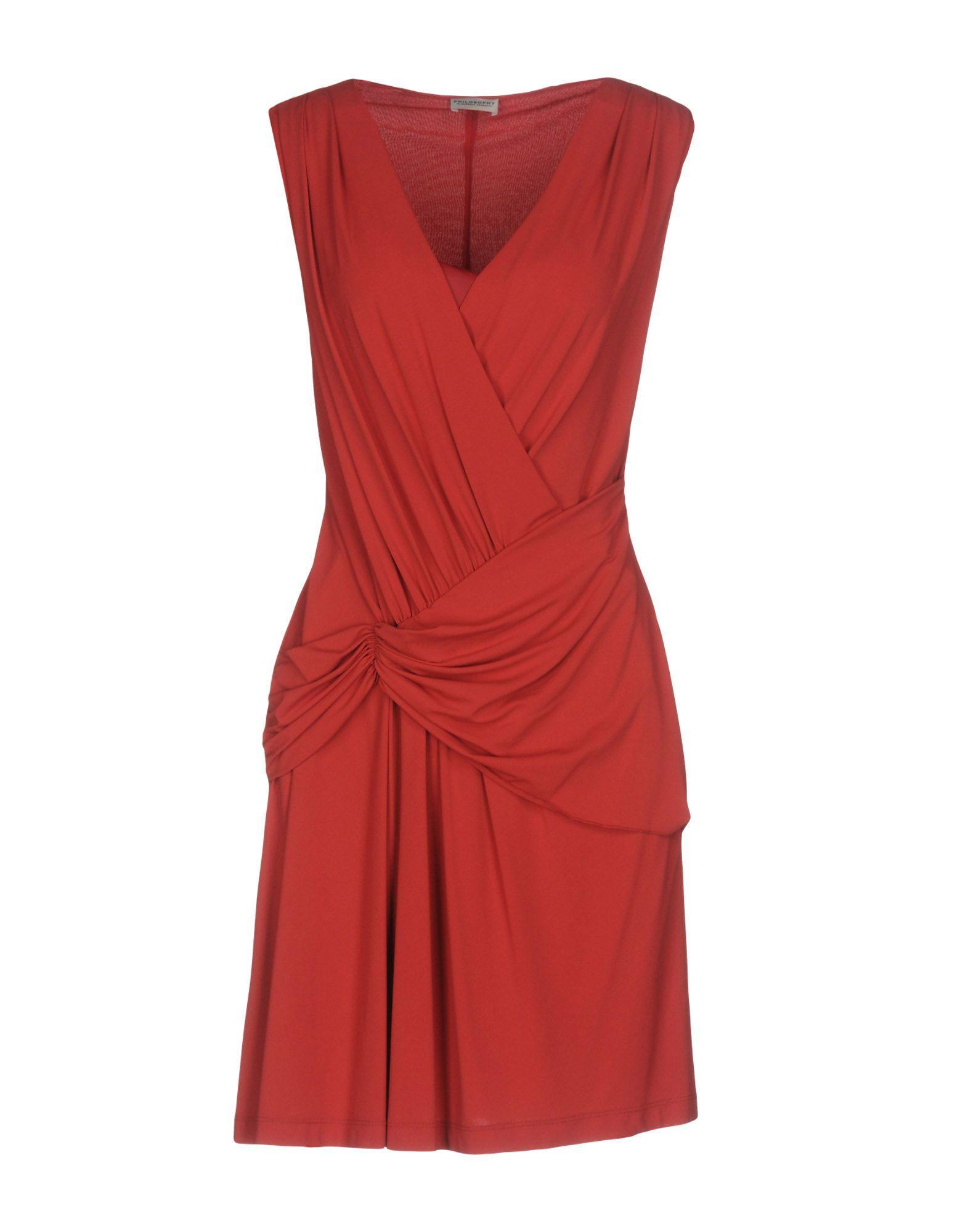 PHILOSOPHY di ALBERTA FERRETTI Короткое платье длинное платье с кружевными вставками fhilosophy di alberta ferretti