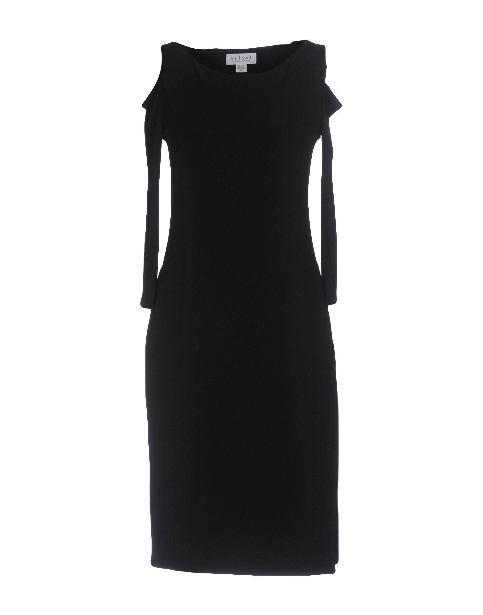 VELVET by GRAHAM & SPENCER Платье до колена velvet платье до колена