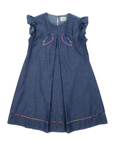 FENDI ガールズ 3-8 歳 ワンピース&ドレス ブルー 8 コットン 100%