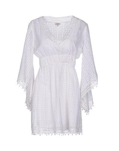 TALITHA レディース ミニワンピース&ドレス ホワイト XS コットン 100%