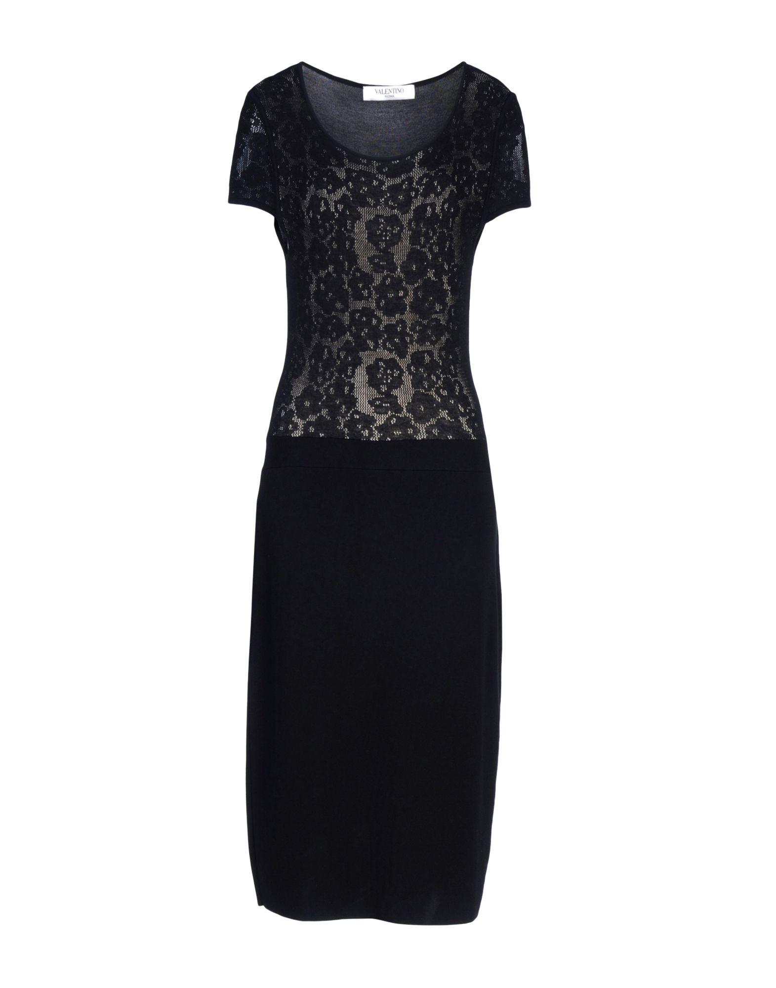 VALENTINO ROMA Платье длиной 3/4 юбка valentino roma юбки мини короткие