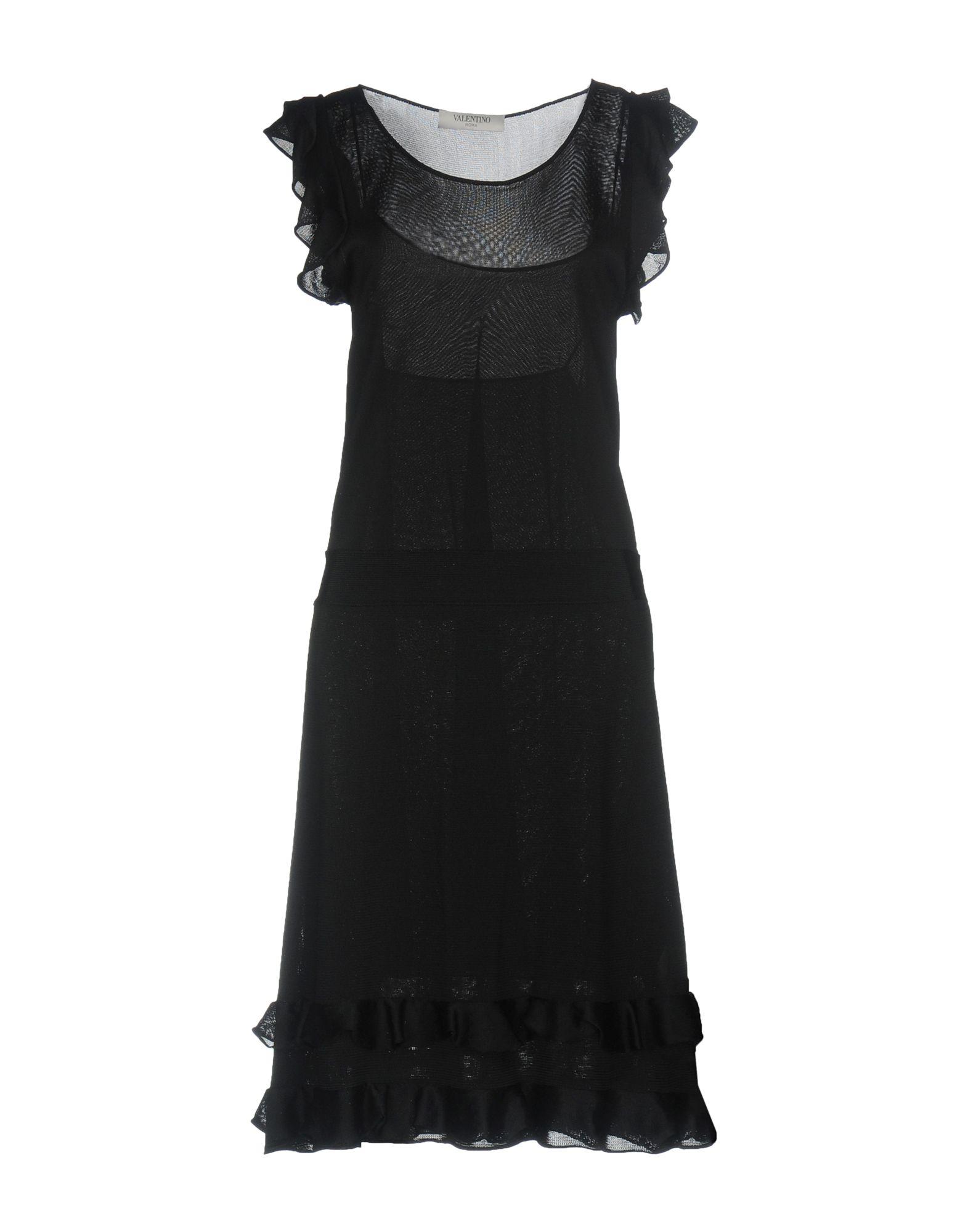 VALENTINO ROMA Платье до колена юбка valentino roma юбки мини короткие
