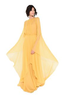 ALBERTA FERRETTI Evening dress in chiffon Long Dress Woman a