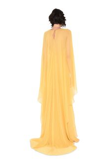 ALBERTA FERRETTI Evening dress in chiffon Long Dress Woman r
