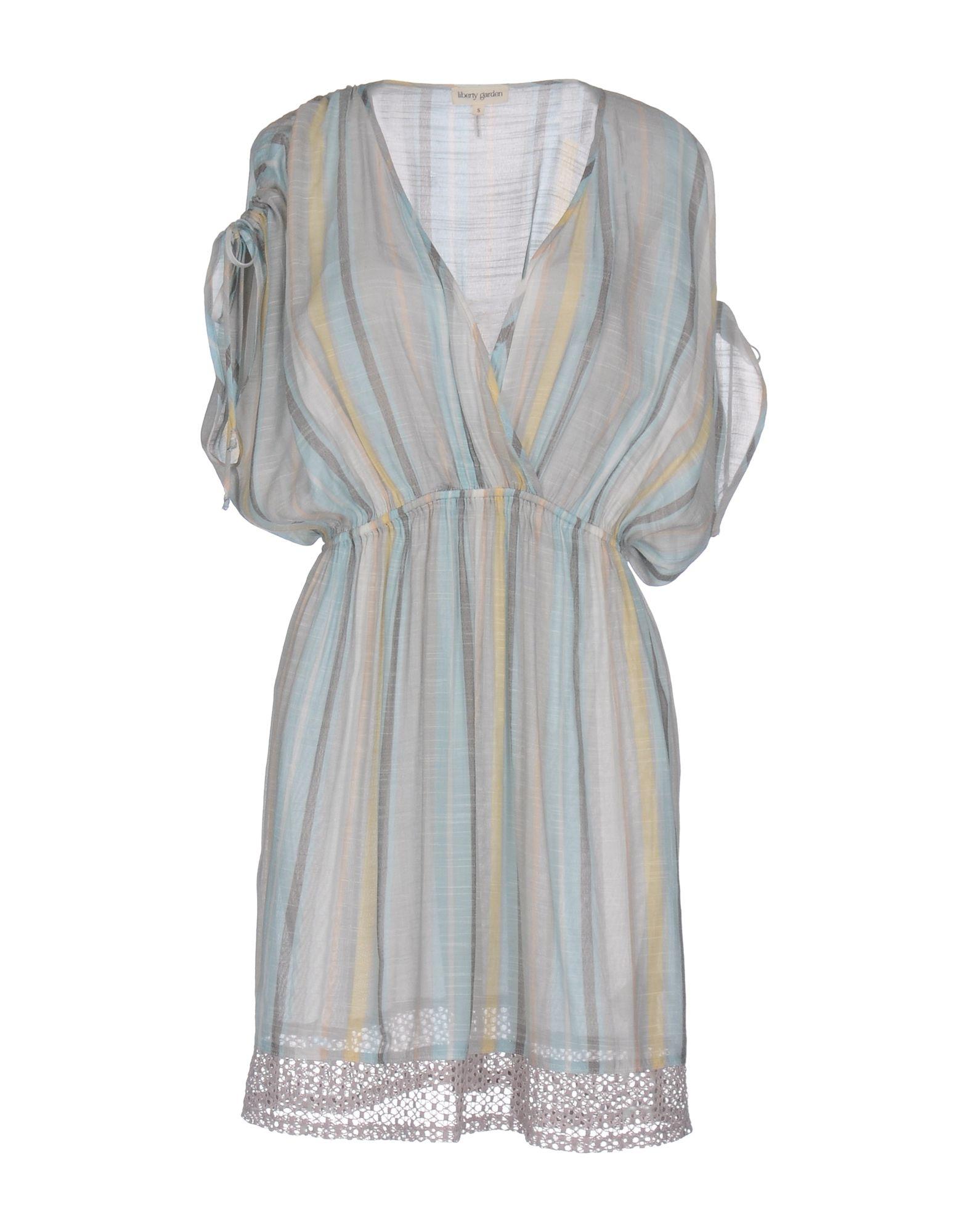 LIBERTY GARDEN Короткое платье рубашка в клетку insight liberty pit blue