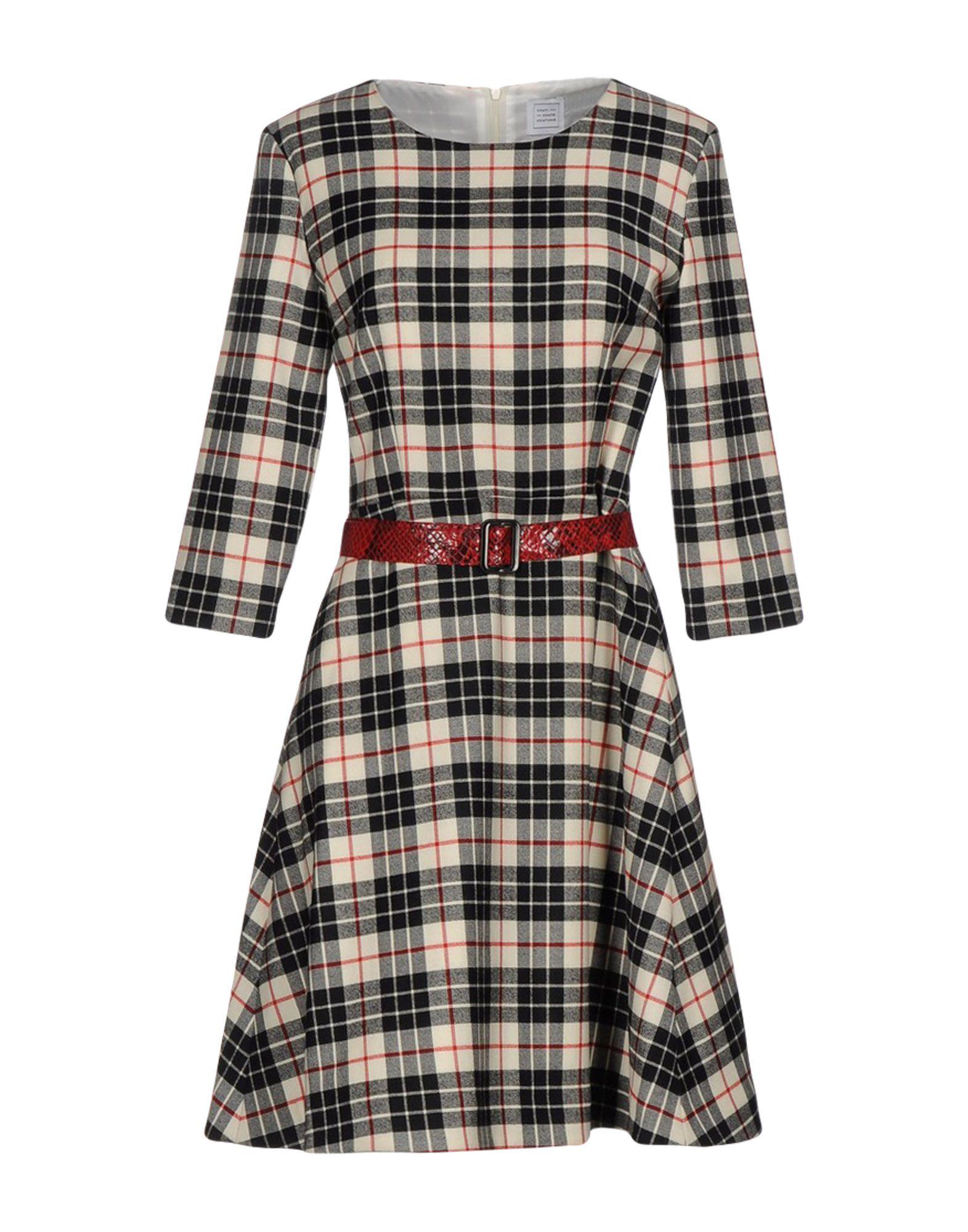 купить VENTI CENTO VENTUNO Короткое платье по цене 14000 рублей