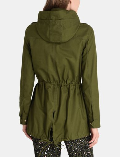 HOODED FISHTAIL PARKA