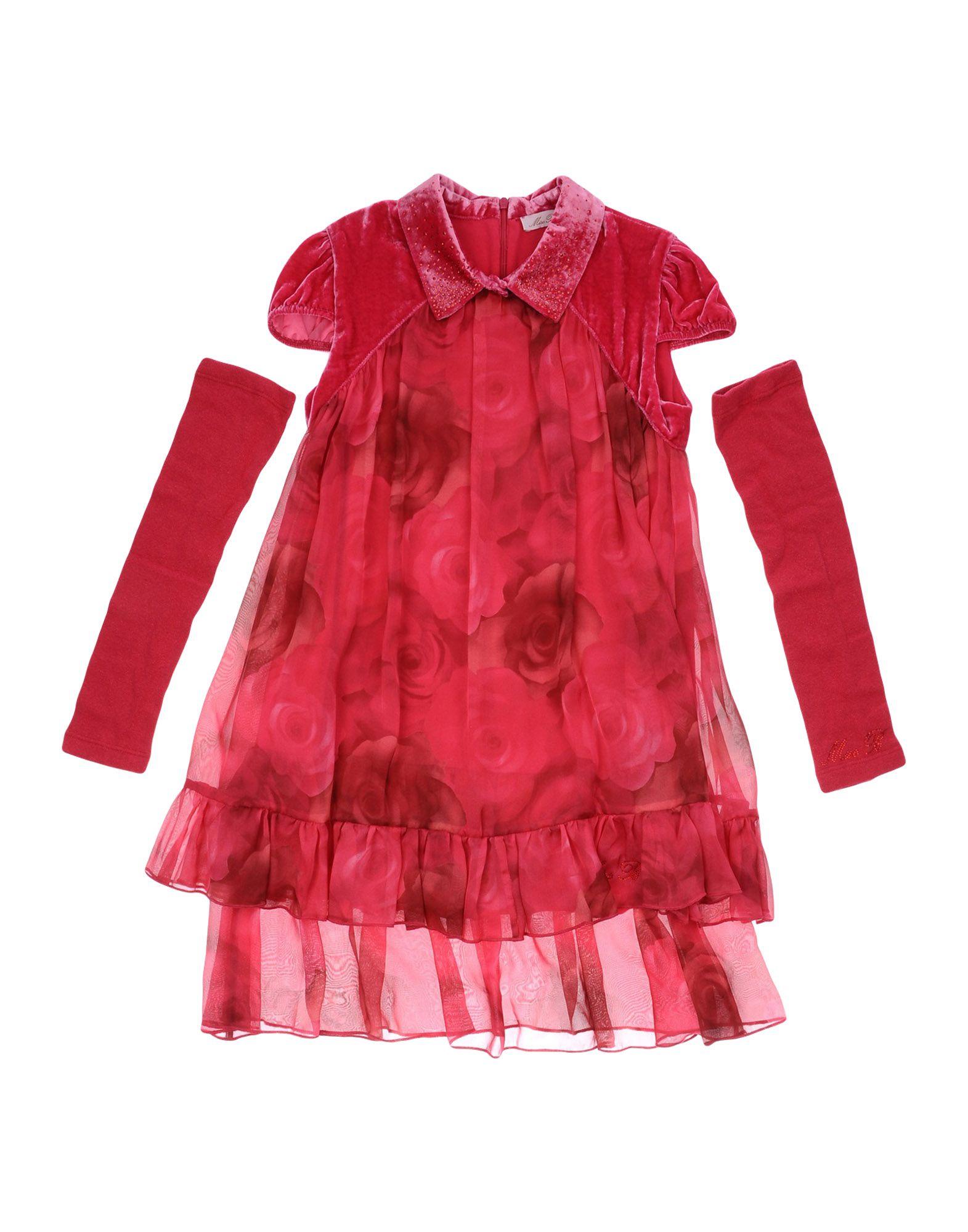 MISS BLUMARINE Платье miss blumarine ремень