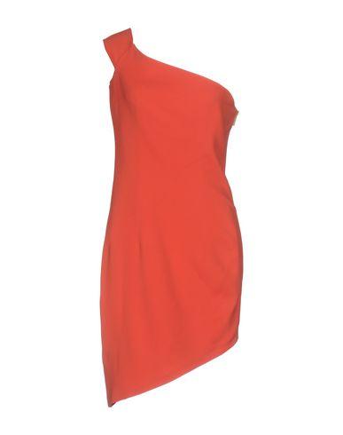 Фото - Платье до колена от SAFIYAA кораллового цвета