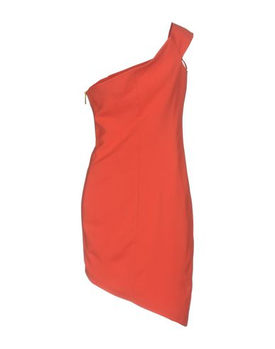 Фото 2 - Платье до колена от SAFIYAA кораллового цвета