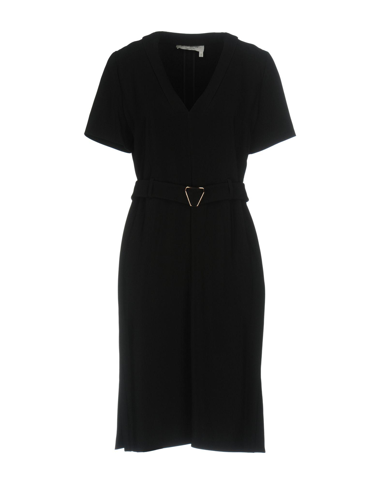 SAINT LAURENT Платье до колена saint laurent ремень